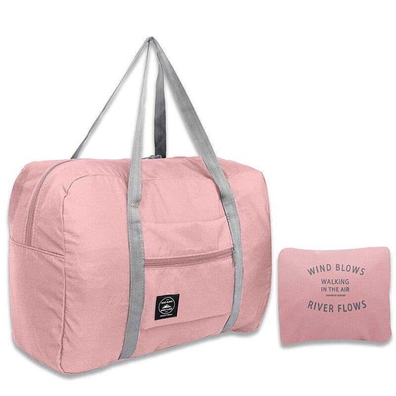 2021 New Nylon Foldable Travel Bags Unisex Large Capacity Bag Luggage Women WaterProof Handbags Men