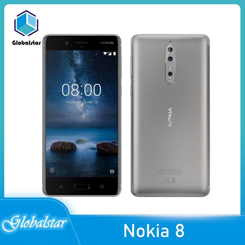 Перейти на Алиэкспресс и купить Nokia 8 Восстановленный Оригинальный Аккумулятор Nokia 8 3090 мАч GPS WIFI FM радио Bluetooth один год гарантии Бесплатная доставка