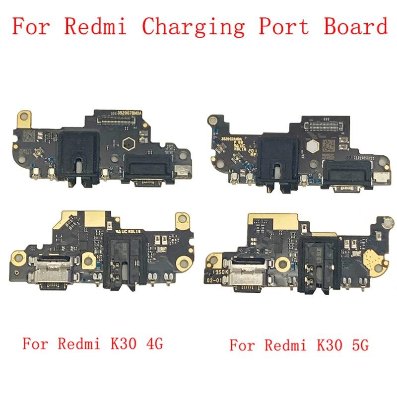 Фото - Original USB Charging Port Connector Board Flex Cable For Xiaomi Redmi K30 4G K30 5G Charging Connector Replacement Parts new original connector 6es7