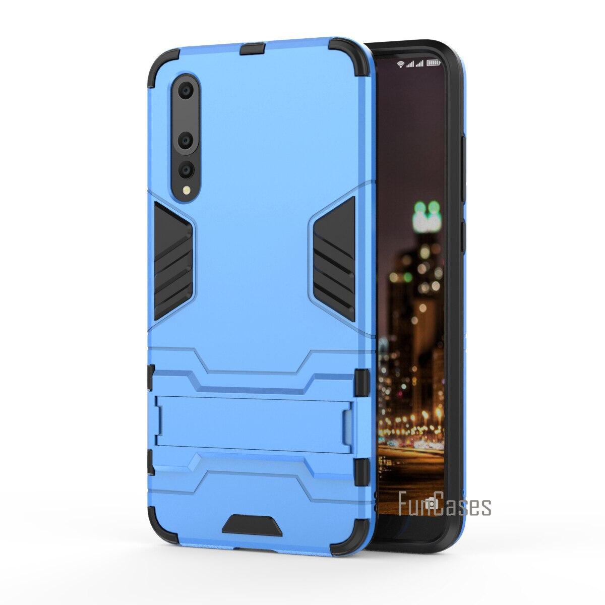 Funda de teléfono de protección fuerte para Huawei P20 Pro Coque Armor...