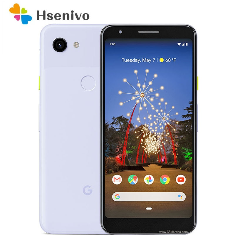 HTC Google Pixel 3a XL отремонтированы Оригинальный разблокированный 4 Гб 64 Гб мобильный телефон 4 аппарат не привязан к оператору сотовой связи 6 дюй...