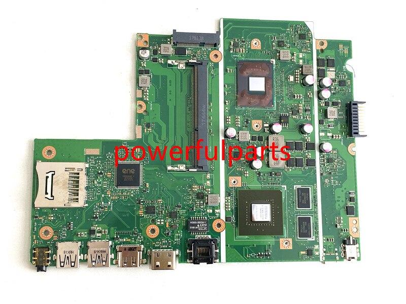 100% novo para asus x541 x541nc placa-mãe com n3350 cpu on-board 90nb0e90 N15V-GL1-KA-A2 testado ok