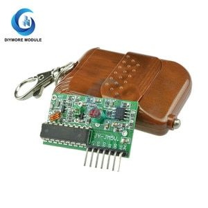 1 Set 2262/2272 315MHZ 433MHZ Wireless Remote Control Receiver Decoding Board for Arduino Home Garage Door