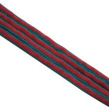 Weiou 6mm Oval Grün Rot Zwei Tonte Schnürsenkel Polyester Halbrunde Schnürsenkel Mode Schnürsenkel Kunststoff Tipps Für Schuhe Turnschuhe