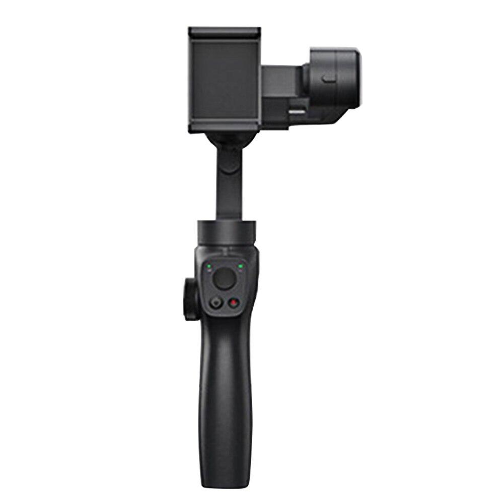 Estabilizador de teléfono inteligente para grabación de vídeo Gimbal portátil estable de viaje de 3 ejes Antivibración para Gopro 4/5/6/7