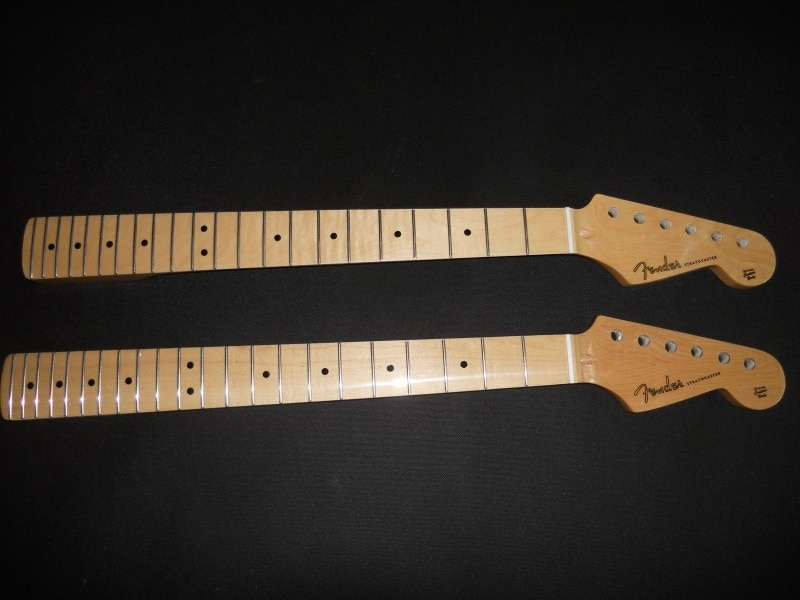 Fast shipping new electric guitar st 21 22 maple fingerplate varnish after the belt guitar neck in stock enlarge