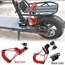 Tragbare Roller Rad Anti-theft Lock Für Xiaomi Mijia M365 Roller Elektrische M365 Pro Skateboard Disc Bremsen Lock M365 teile