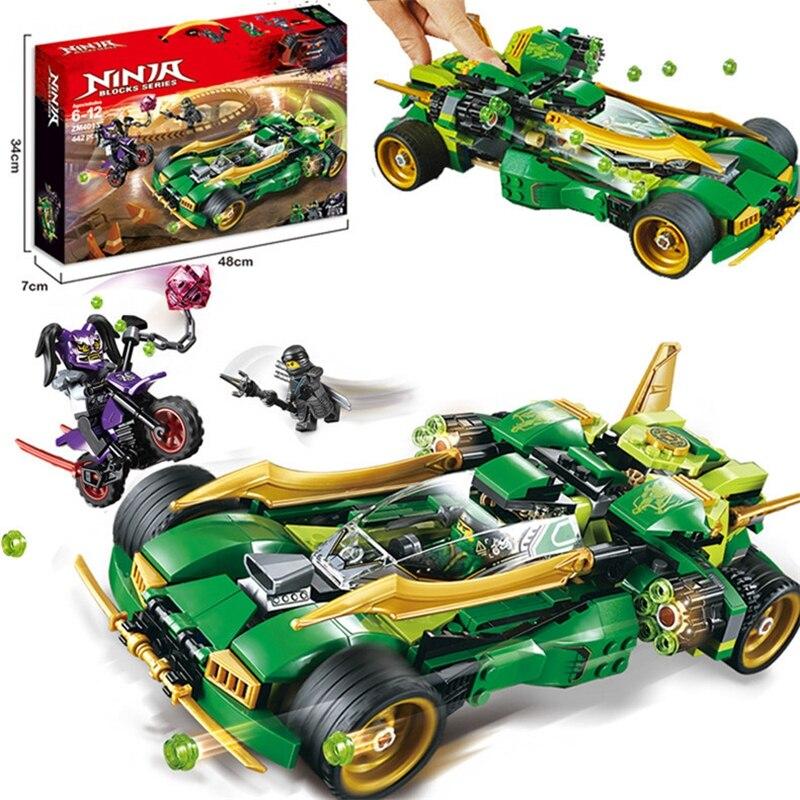New Lloyd's Ninja Nightcrawler Building BLocks Bricks Compatible 70641 Ninjagoed Set Toys For Children Gift