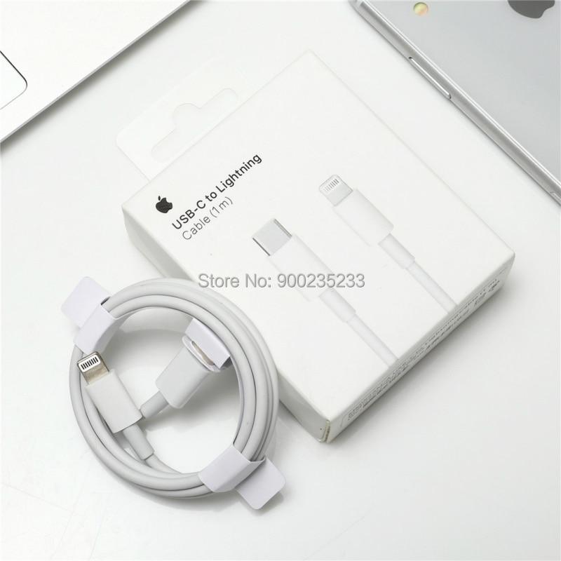 Apple Original USB-C to Lightning Cable 1m for iPhone X/11/12/iPad/Macbook