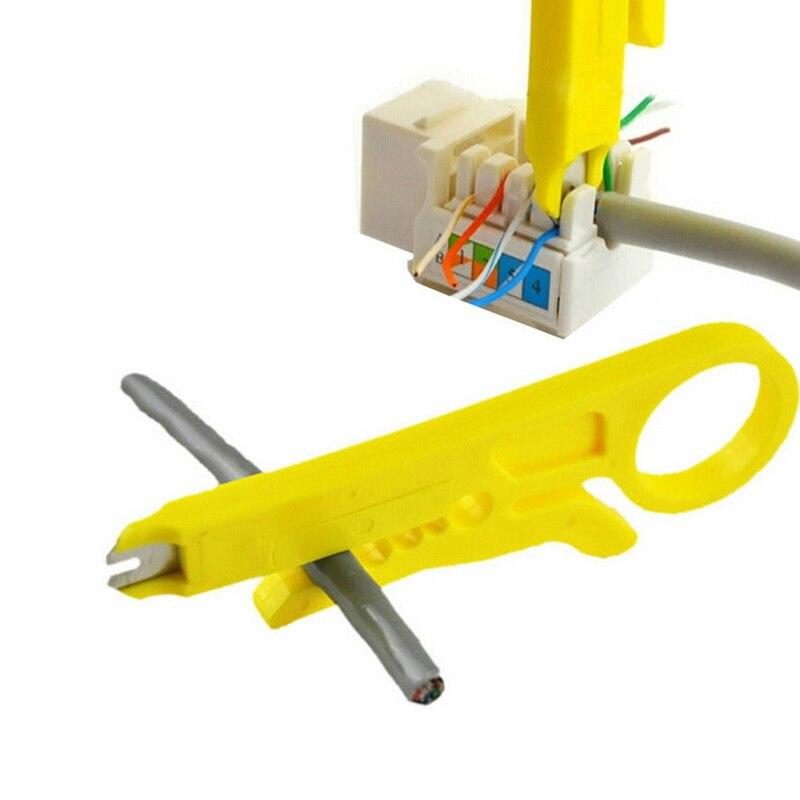 Urijk mini bolso portátil fio stripper faca crimper alicate ferramenta de friso cabo de descascamento fio cortador crimpatrice ferramenta parte
