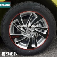 for honda fit 2014 carbon fiber car wheels mask decal stickers sports grade
