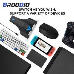 Ps4 controlador conversor teclado mouse conversor gamepad adaptador para playstation 4 para xbox um ps3 ps4 pro para nintendo switch
