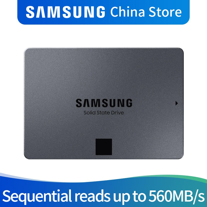 SAMSUNG MZ-77Q1T0BW 870 QVO 1TB 2TB 4TB SSD disco duro portátil de estado sólido SSD disco de estado sólido 1T