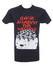 Rage Against The Machine-têtes de squelette-T-Shirt officiel-neuf M L xlcott ont-chemises livraison gratuite mode