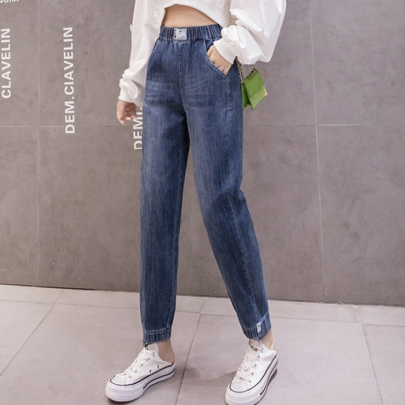 2020 winter jeans women clothes baggy jeans women plus size high waist jeans loose black jeans pants women boyfriends mom jeans women jeans f5 285005