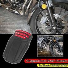 Motorcycle Front Tire Hugger Mudguard Splash Guard Protector Fender Extender Extension Mudflap Cover for Honda CB500X 2019 2020