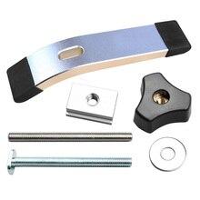 Nouveau jeu de pinces de maintien à action rapide en métal de force professionnelle pour t-slot t-track bricolage travail du bois accessoires doutils de haute qualité