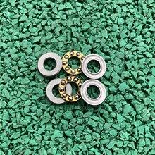 50pcs  F7-15M  Axial Ball Thrust Bearings 7x15x5 mm miniature Plane thrust ball bearing  7*15*5