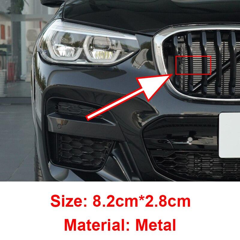 Автомобильная решетка радиатора, металлическая, для Bmw M E30 E90 E84 E83 3 Series 5 Series 7 Series 1 Series X1 X2 X3 X5 X6, 1 шт.