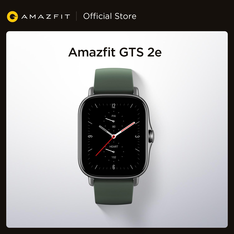 Modos de Esportes Inteligente para Andri Versão Global Amazfit 2e Smartver 1.65 Polegada Sono Quaility Monitoramento 90 Natação Relógio 2021 Gts