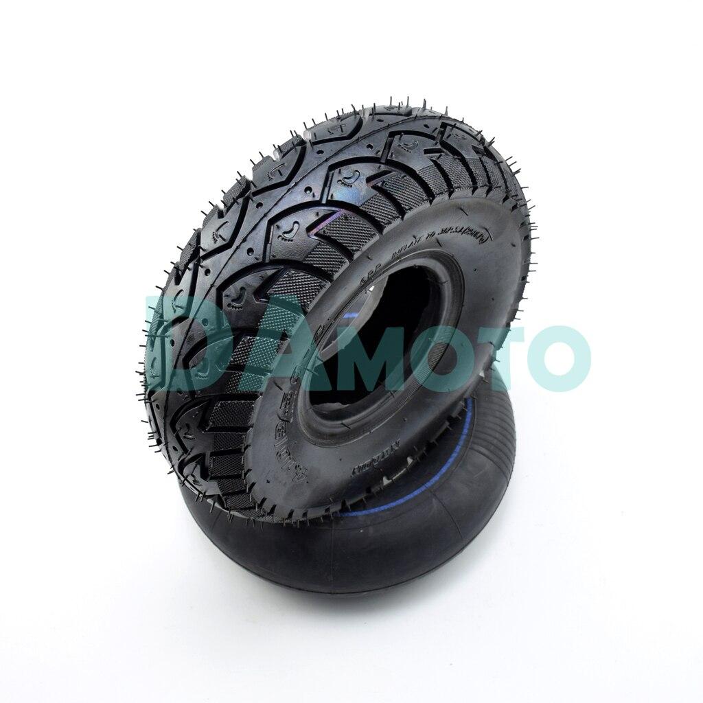 4.10/3.50-4 4.10-4 pneu 10 Polegada tubo interno externo pneu e butilo para cortador de grama quad buggy gokart buggy roda scooter de gás elétrico atv