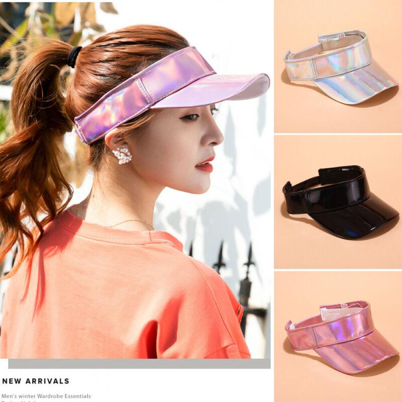 Sun Visor Adjustable Sports Tennis Golf Cap Headband Unisex Men Women Hat Laser