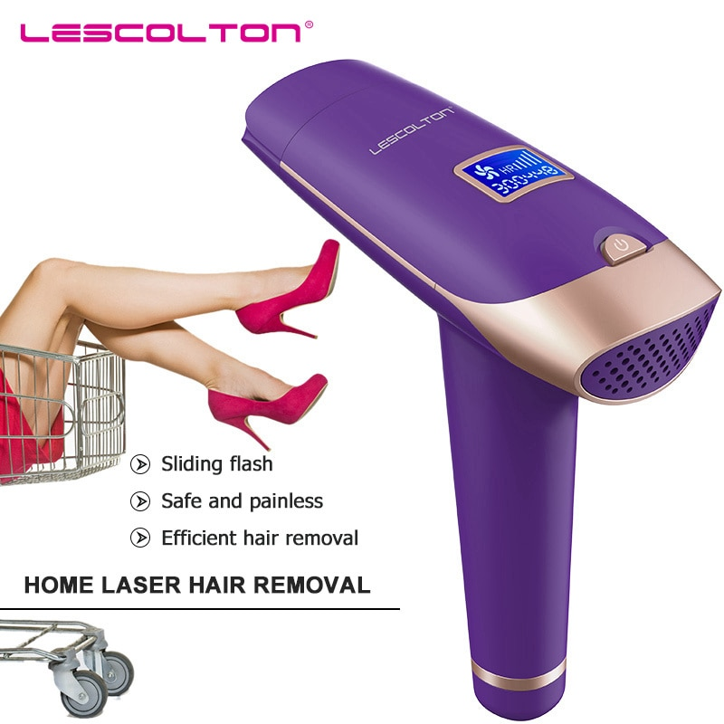Lescolton 400000 Flashes Electric Epilator 2IN1 Hair Removal With LCD Display Laser Machine For Bikini Underarm Photoepilator enlarge