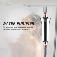 15 stage home water purifier chlorine shower filter activated carbon faucets purification eliminates hard water bathroom
