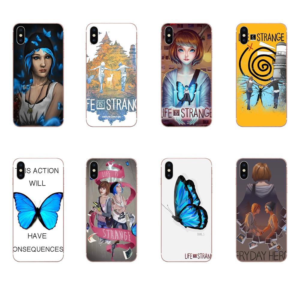 Soft Stylish Case Life Is Strange Butterfly Flexibles For LG G7 ThinQ G5 G6 K50 Q60 K40 K8 Q7 2018 2017 V40 V30 V20 V10