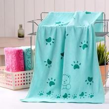 Muslin 100% Cotton Cat Paw Print Baby Swaddles Soft Newborn Blankets Bath Gauze Infant Wrap Sleepsack Stroller Cover Play Mat
