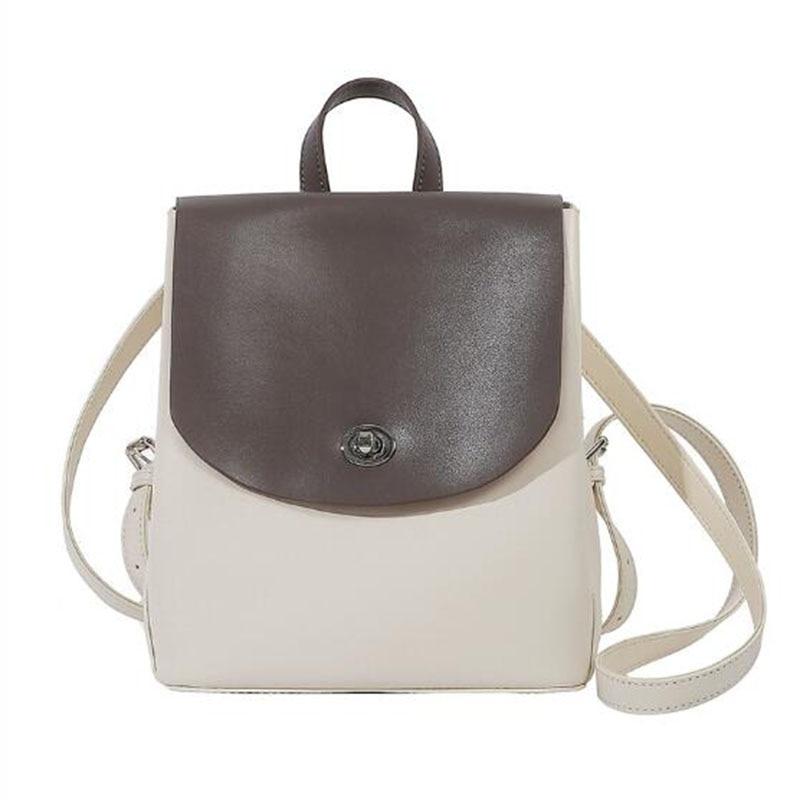 Mini Mochila De Cuero genuino pequeña Mochila femenina Mochila Vintage para mujer mochilas de viaje mochilas de hombro mochilas escolares saco A Dos
