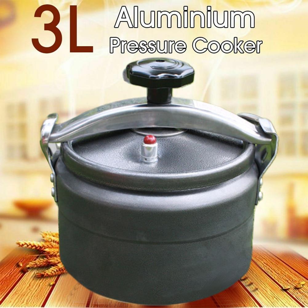 Resistente ao Calor Cozinha ao ar Fogão de Pressão Alumínio à Prova Piquenique Livre Acampamento Ferramenta Multiuso Anti Risco Liga Explosão 3l
