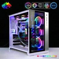 Bykski Hose Water Cooling Kit CPU + GPU MOD Cooling Program For Soft Tubing 5V RBW Lighting