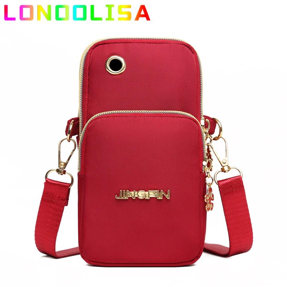 حقيبة أكسفورد صغيرة غير رسمية ملونة للهاتف حقيبة كتف صغيرة على الموضة للنساء 2021 محفظة وحقائب يد فاخرة