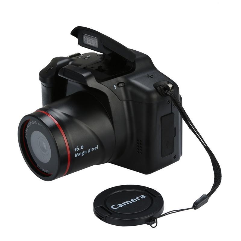 New Digital Camera 16X Zoom Pixel Camera Professional Camera Digital Zoom LED Headlamps Cheap Sale Cameras SLR Digital Camera enlarge