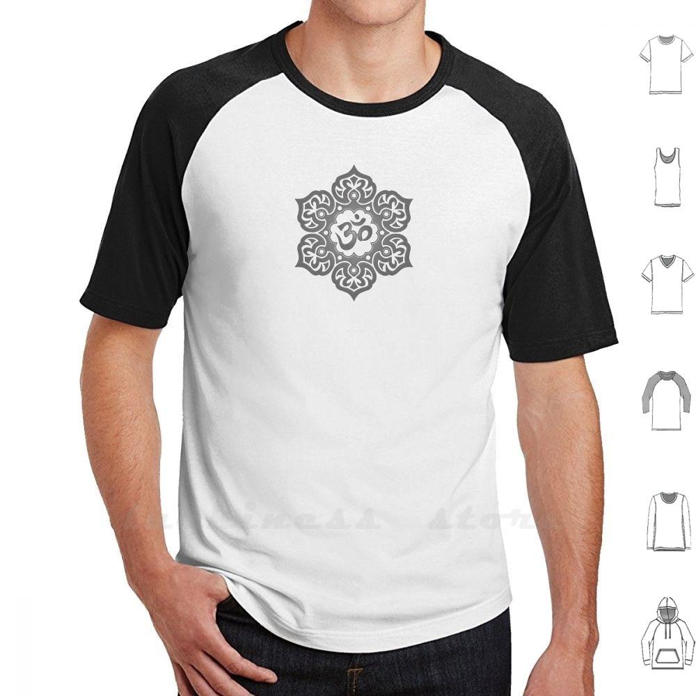 Flor de loto de Yoga oscura Om camiseta hombres mujeres adolescentes 6Xl Om flor de loto Om Yoga Om meditación medita
