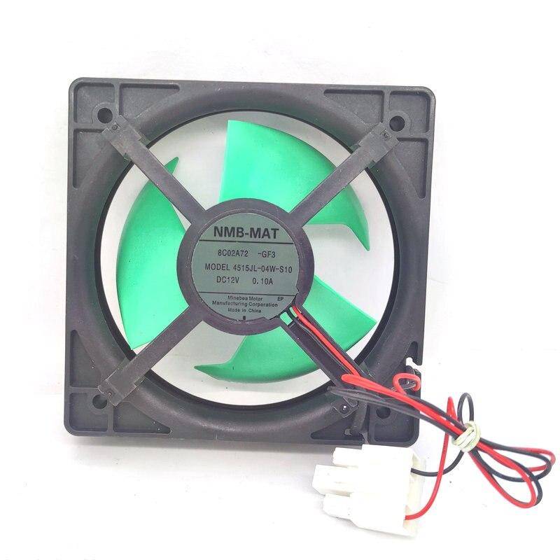 جديد الأصلي NMB 4515JL-04W-S10 12 فولت 0.10A 9 سنتيمتر لمروحة تبريد الثلاجة