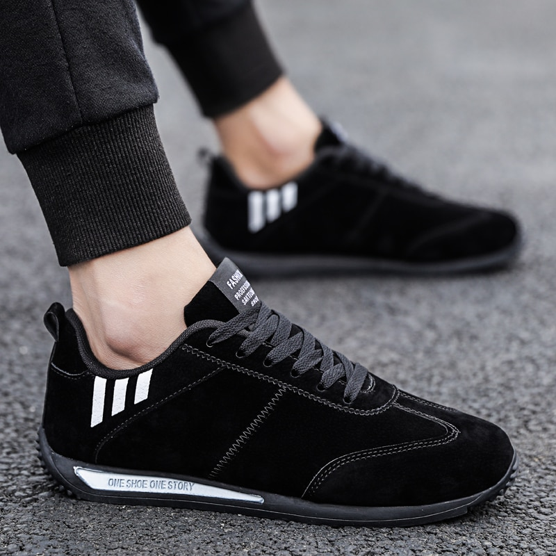 Brand Leather Men Casual Shoes Superstar Fashion Sneakers Male Autumn Shoes Rubber Mens Outdoor Shoe Man Designer  Footwear Flat clax men shoes genuine leather spring autumn casual shoe male leather shoe walking footwear soft black fashion