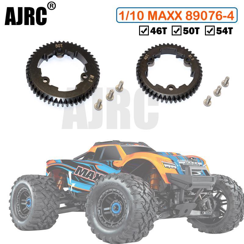 TRAXXAS 1/10 4s MAXX canavar kamyon 45 # sertleştirilmiş çelik ana dişleri (M1.0) 46 T/50 T/54 T yerine 6447/6448/6449 89076-4