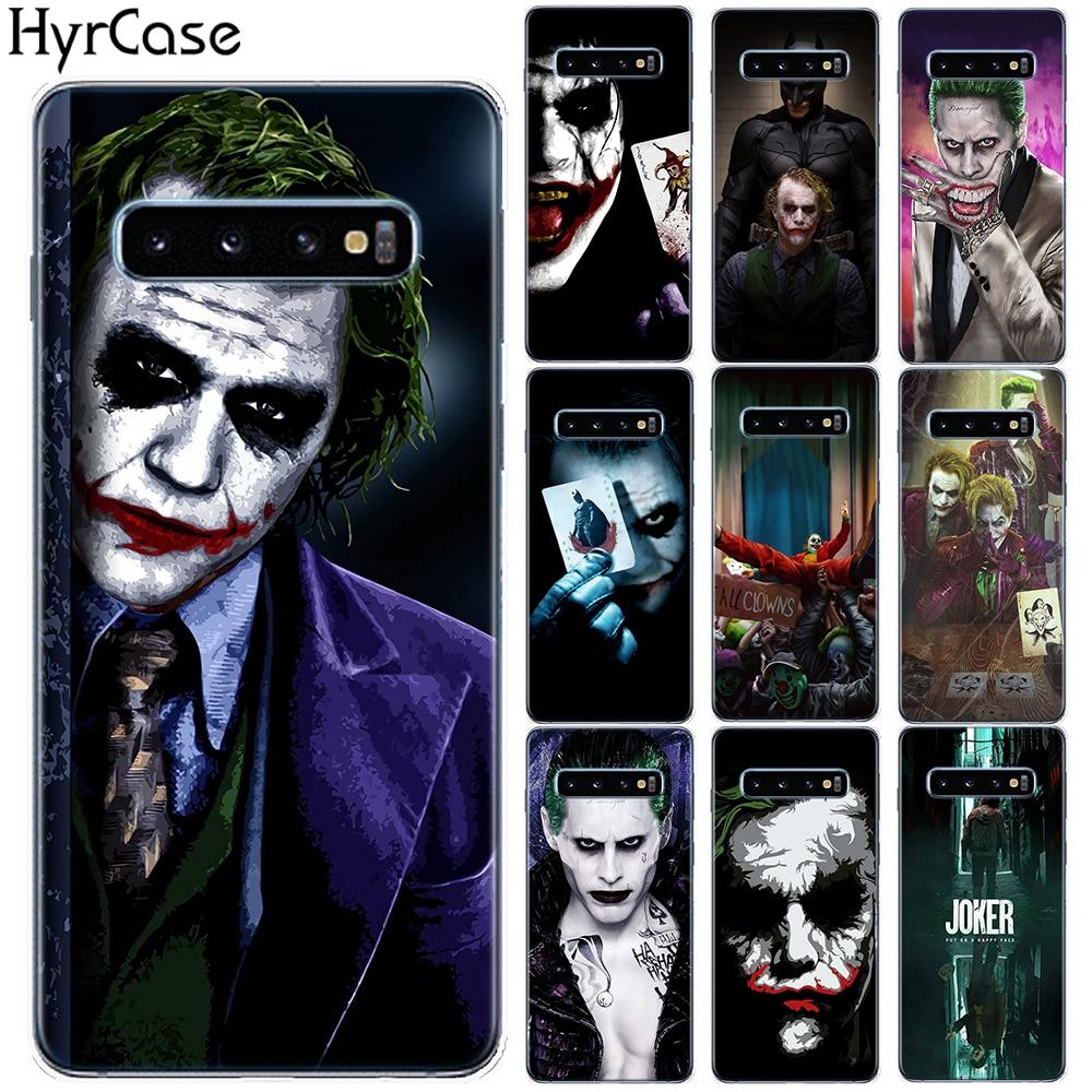 Joker Movie 2019, funda de silicona suave para Samsung Galaxy S10 Plus 5G E S10E S7 S6 Edge S8 S9 Plus