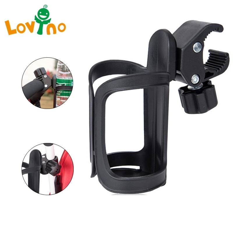 New Baby Stroller Cup Holder Rack Bottle Universal 360 Rotatable Cup Holder for Pram Stroller Carryi