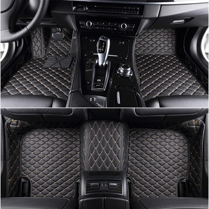 Custom 5 Seat Car Floor Mats For Mercedes Benz C Klasse C180 C200 C230 C240 C250 C280 C300 Cl200 Cl500 Cl550 Cla Car Mats Floor Mats Aliexpress