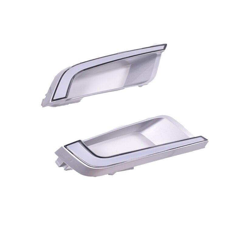 Luz LED de conducción diurna YUANEN para Ford Ranger 2015 2016 2017 2018 relé de señal amarilla de giro impermeable 12V LED DRL