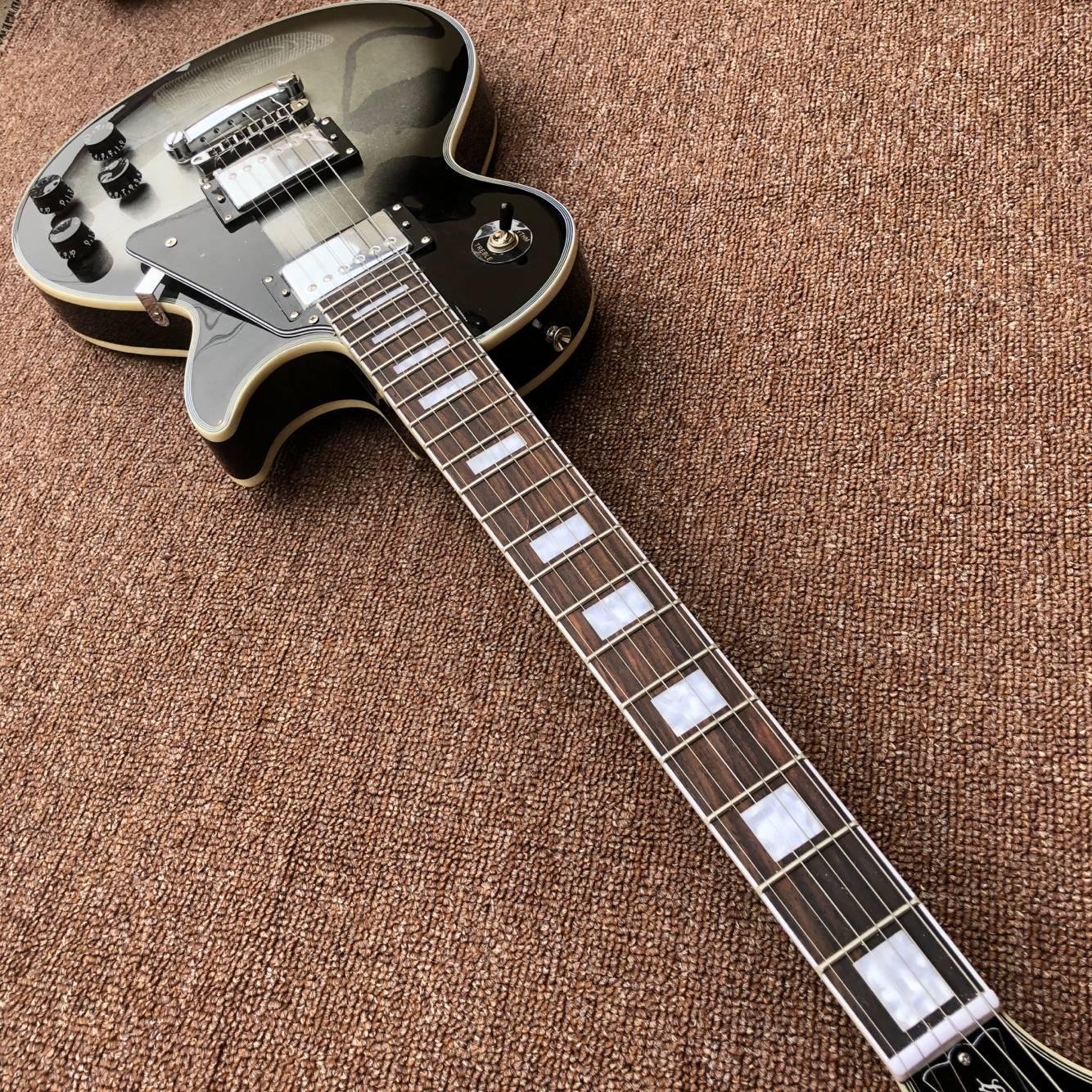 New standard Custom electric guitar.rosewood fingerboard gitaar,handwork 6 Strings Silver color guitarra. enlarge