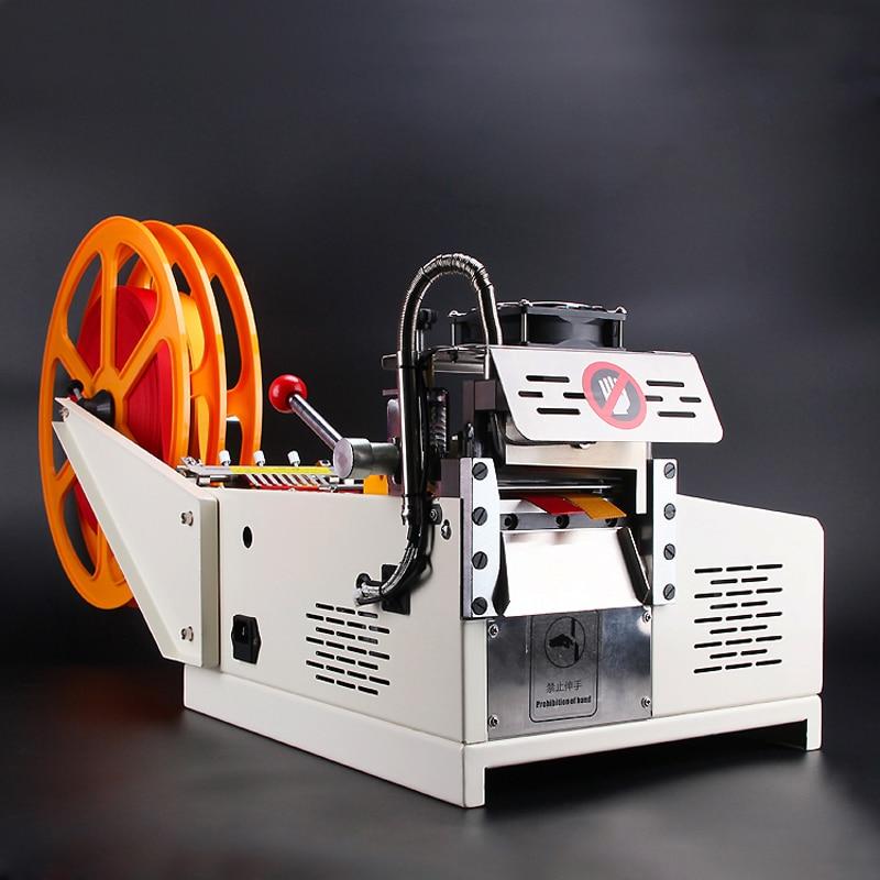 Máquina de corte de cinta de microordenador automática para pantalla grande, máquina de corte de cinta adhesiva en caliente y fría, cinta adhesiva mágica con cremallera