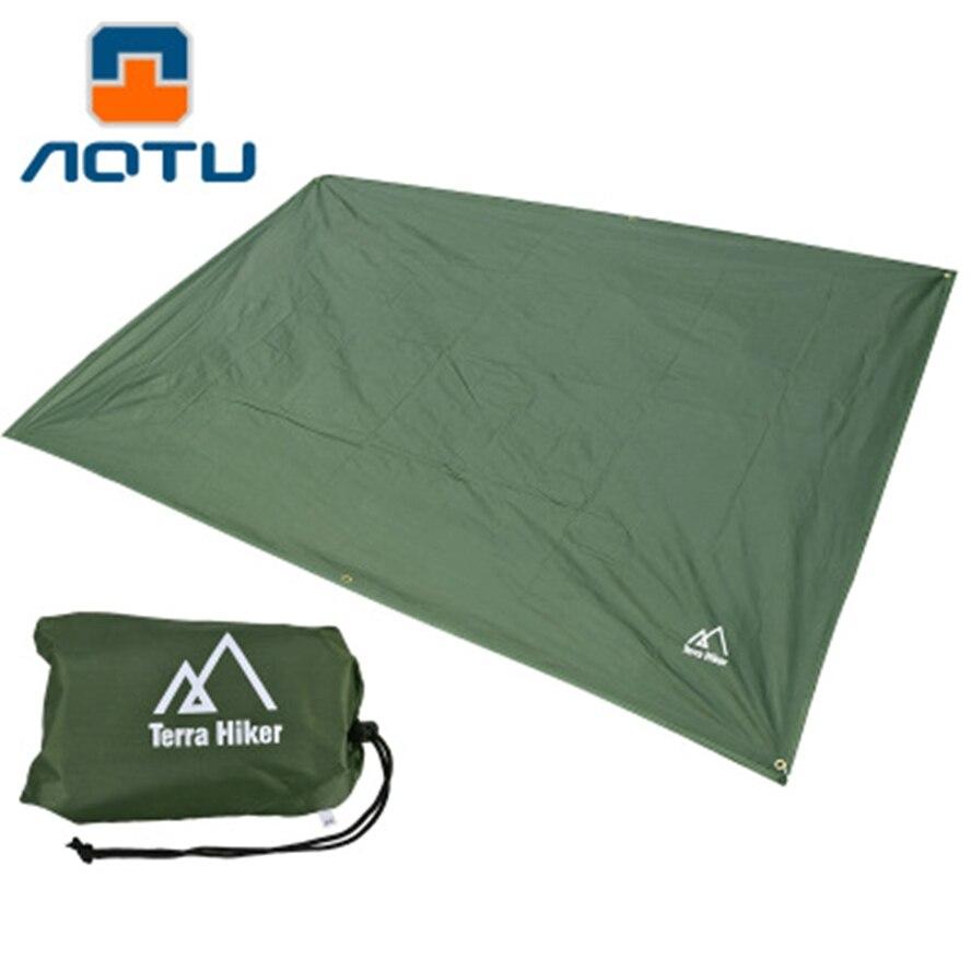 Toldo multifuncional impermeable Lona de Picnic estera de jardín toldo sombrilla Camping al aire libre playa refugio solar 1,8*2,2 M 2,4*2,2 M