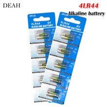 10pcs 6V 4LR44 Alkaline Battery for Dog Training Shock Collars Beauty pen A544V 4034PX PX28A L1325 4AG13 544 4A76 Dry Batteries
