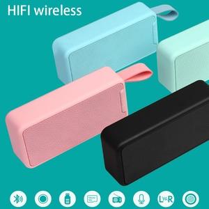 Портативный Bluetooth-динамик, уличный Многофункциональный беспроводной радиоприемник, U-диск, портативный сабвуфер, Bluetooth-динамик, кольцо