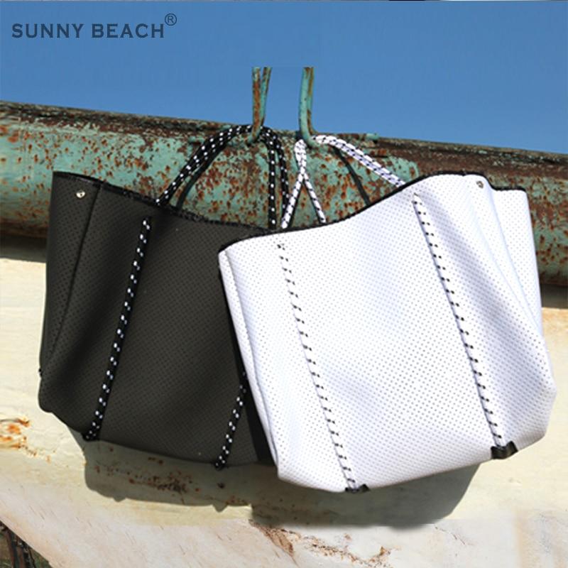 SUNNY BEACH, bolso de lujo para mujer, bolso de hombro tipo bandolera, bolsa grande de neopreno para compras, bolso ligero para mujer, Bolsas de mujer, bolso para mujer