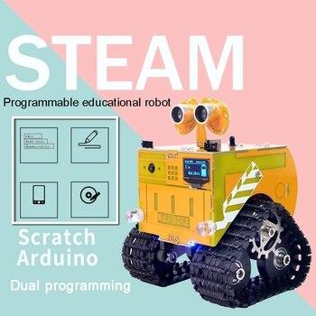 XIAOR GEEK Educational Programming Robot for Kids STEM Education Entry-Level Programming DIY Robot with Camera